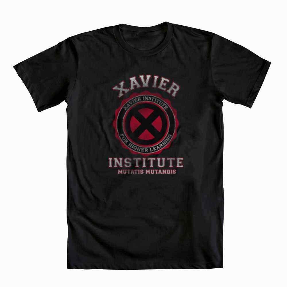 X-Men Xavier Enstitüsü Erkek Siyah Tişört