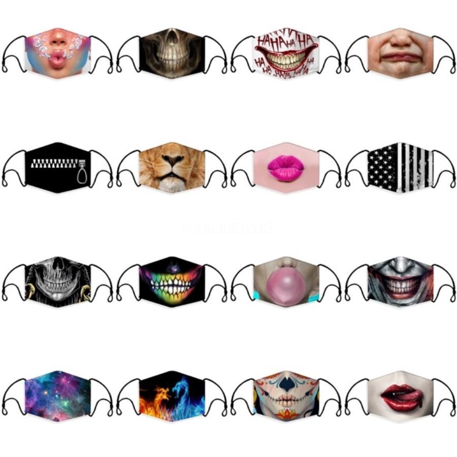 Anti-poeira Cotton Mouth Máscara Facial Unisex Homem Mulher Ciclismo Preto desgastando moda de alta qualidade grátis # 609