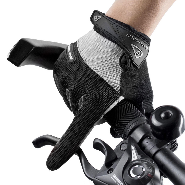 sports de plein air unisexe de vélo Gants vélo de fitness antidérapants vélo complet doigt gants écran tactile