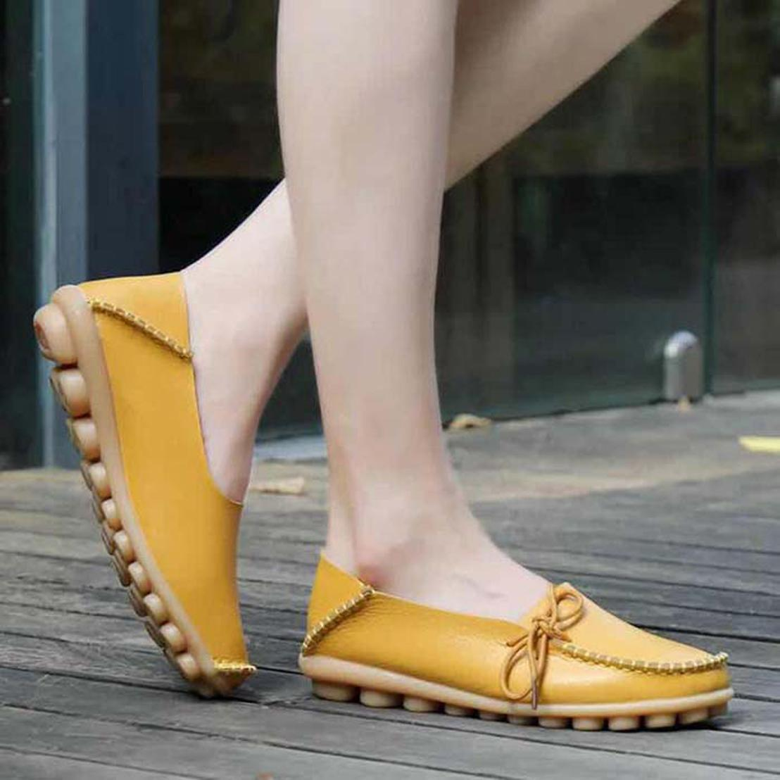 Mit Box Frau Pantoffel Schuh Sandalen aus echtem Leder-Qualitäts-Hausschuh Mode Scuffs Hausschuhe Freizeitschuhe freien DHL-02PX970