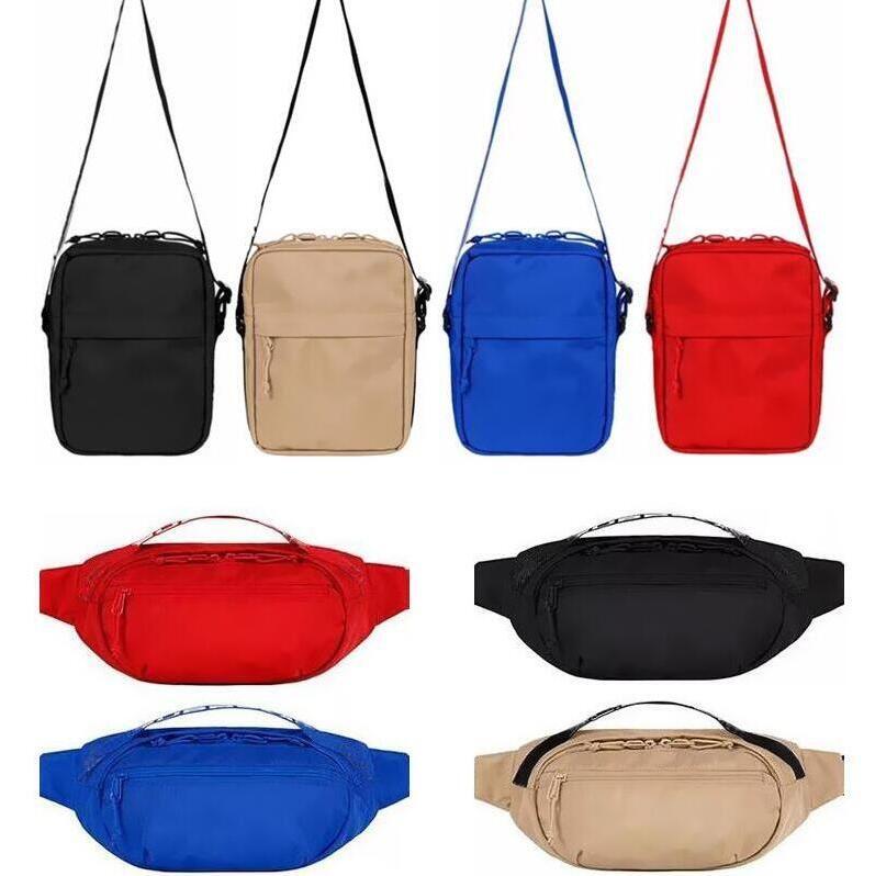 Fashion Fanny Pack Top Quality Unisex Embroidery Waist Bags Men Messenger Bag Small Shoulder Bag Lady Hip-Hop Belt Bag Chest Bags