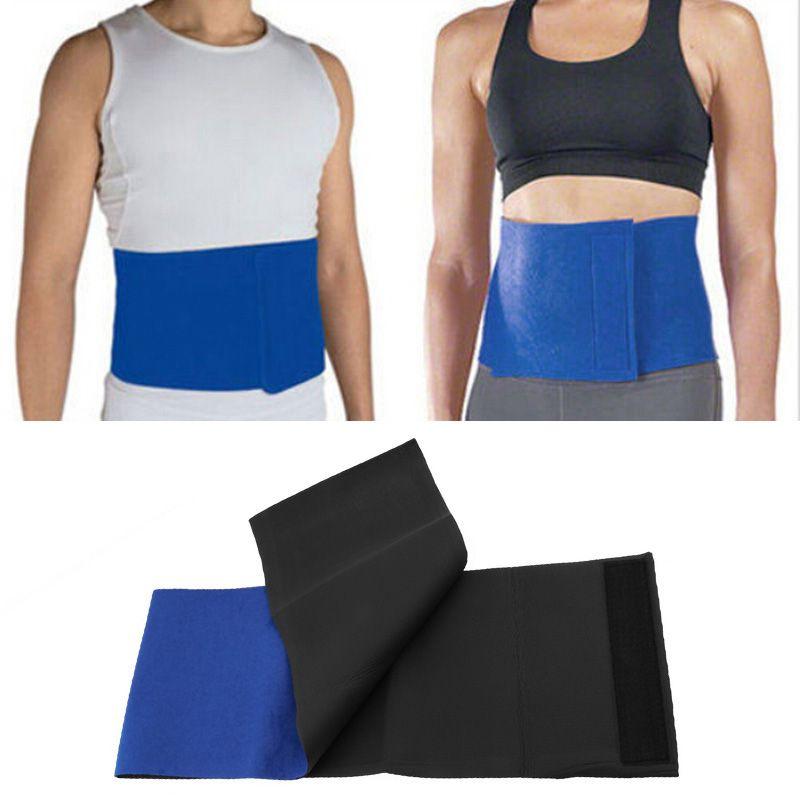 Ajustável cintura Trimmer Exercício Sweat Belt Fat Burner Shaper emagrecimento perder peso corpo a queimar celulite para as Mulheres Homens