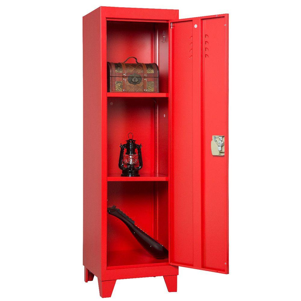 Multifunzione bagagli Governo del metallo 3 porta armadio Armadio Organizzatore Console stand 3-in-1lockers per Camera da letto, camera dei bambini, scuola di file di Office