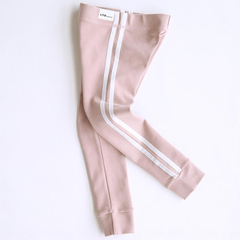2020 Spring and tight pants Parallel bars tight pants Autumn Korean style cotton parallel bars casual leggings for girls