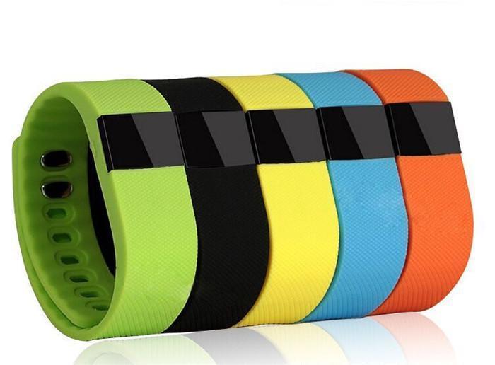 Fibit TW64 inteligente pulsera del precio bajo actividad deportiva Muñequera Correr rastreador de ejercicios Bluetooth 4.0 Fitbit Flex reloj para iOS Android