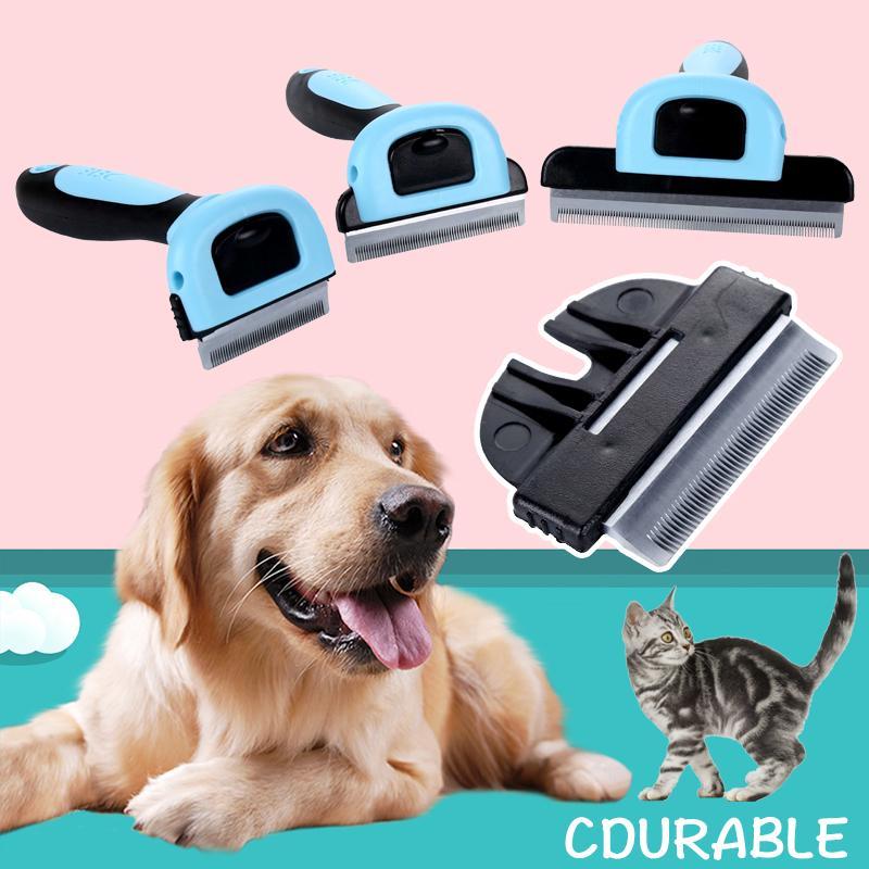 Pet Combs Cat Dog épilateur Brosse Toilettage pour animaux détachables Clipper Pet Trimmer Attachment Peignes d'alimentation Furmins pour Cat Dog