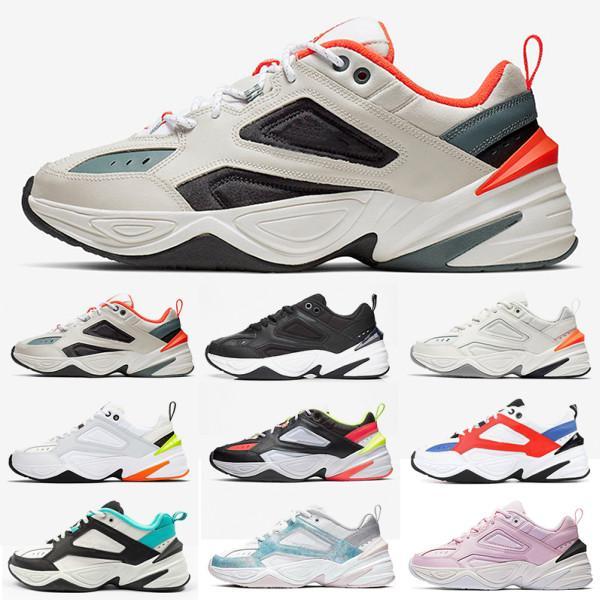 Erkekler Kadınlar Hafif Profesyonel Spor için spor ayakkabıları Koşu 2020 M2K Tekno Eski Büyükbaba Eğitmenler Ayakkabı Boyutu 36-45 mens