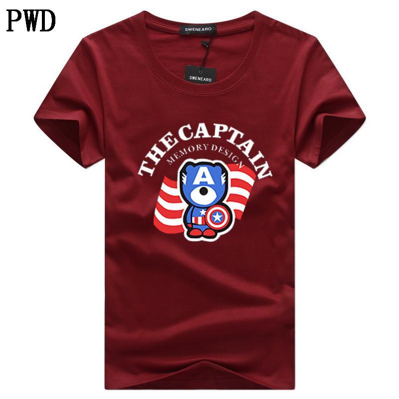 Marka Moda Erkekler Tişörtler Erkek Artı boyutu Tişörtlü Homme Yaz pamuk Kısa Kollu T Shirt Marka Erkek Tee Gömlek Erkek Giyim C-8