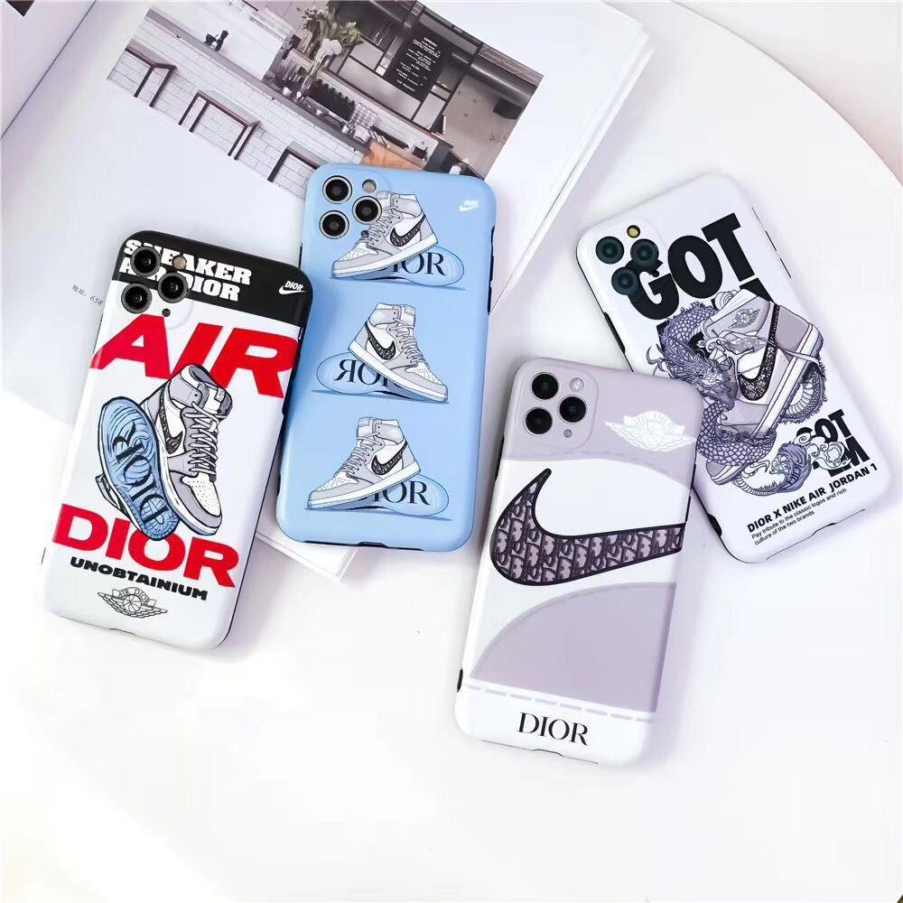 AJ AIR X Designer Blu cellulare di caso per iPhone Pro 11 XS Max XR X 7 8 più