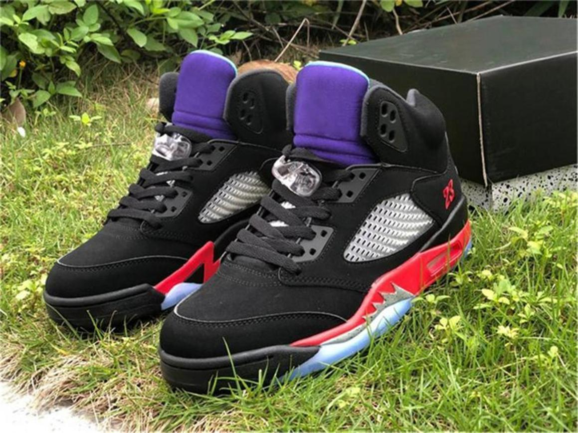 2020 Top 5 Mode Top 3 Basketball Chaussures 30e anniversaire Violet Black Grape Ice New Emerald CZ1786-001 Authentic Sports Chaussures Taille 7-1
