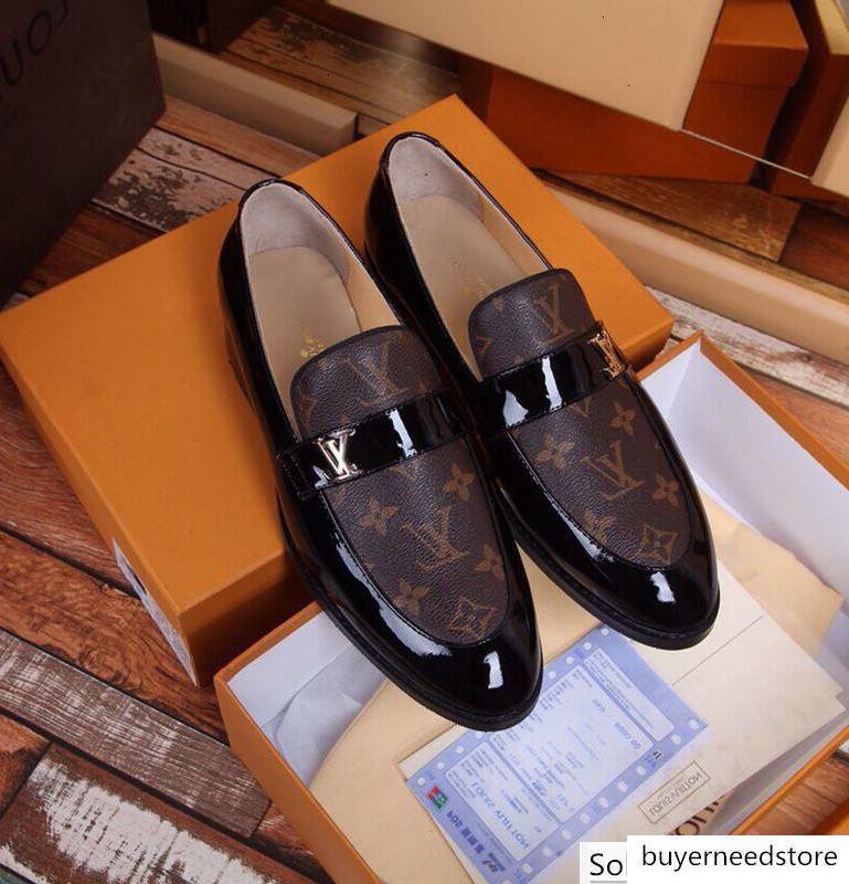 Deri iş ayakkabıları 2075 Guan Erkekler Elbise Ayakkabı BOT makosenler SÜRÜCÜLERİ TOKALARI SNEAKERS SANDALETLER