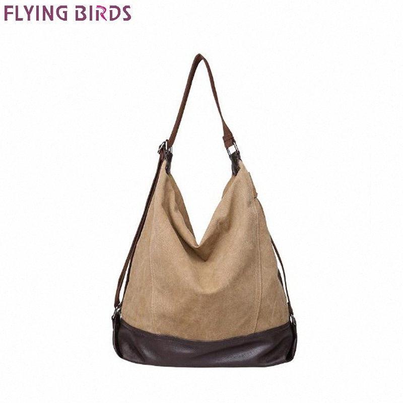 Neue Art und Weise Handtasche für Frauen Leatger Schultertasche Große Beutel Crossbody-Tasche Leinwand-Tasche für Frauen 2018 Pure Color A10256 tPlU #