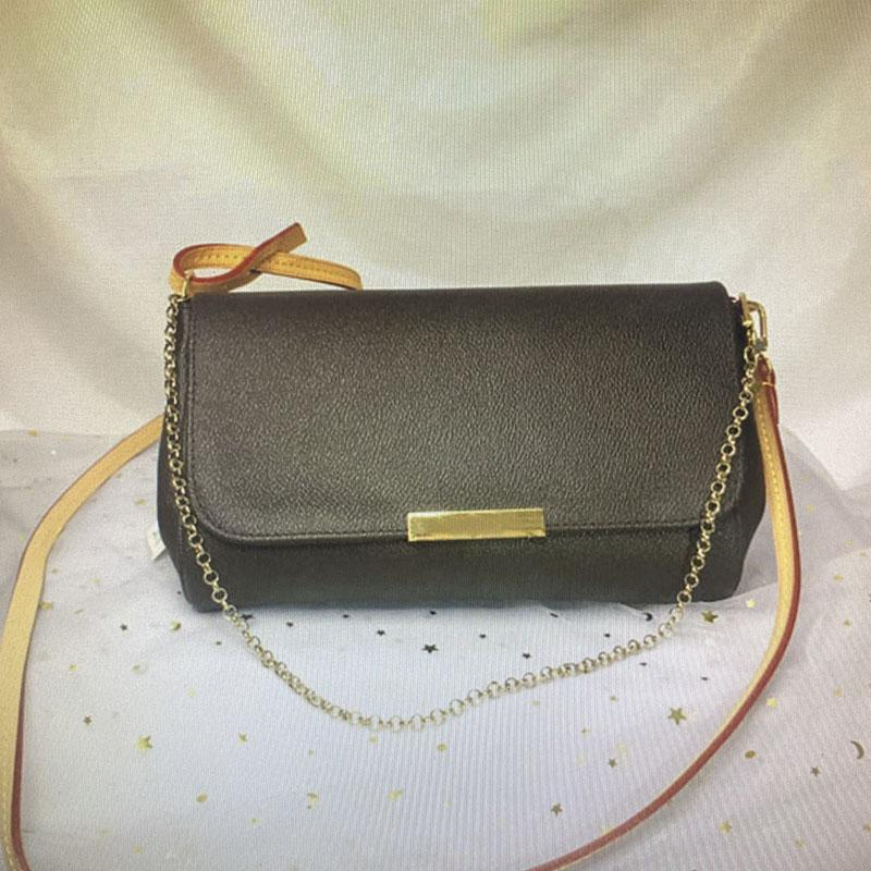 M40718 FAVORITE MM Classic Handbag Fashion Women Crossbody Bag Chain Shoulder Bags Leather Damier Azur Ebene Canvas Cross Body Bag N41275