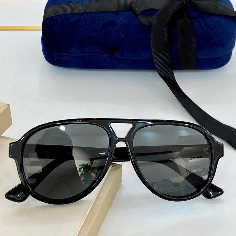 Moda Mujeres Populares Con Gris Designer Piloto Marco Negro Lente Gafas De Sol Sunglasses Original Hombres Marca Caso HPUIA