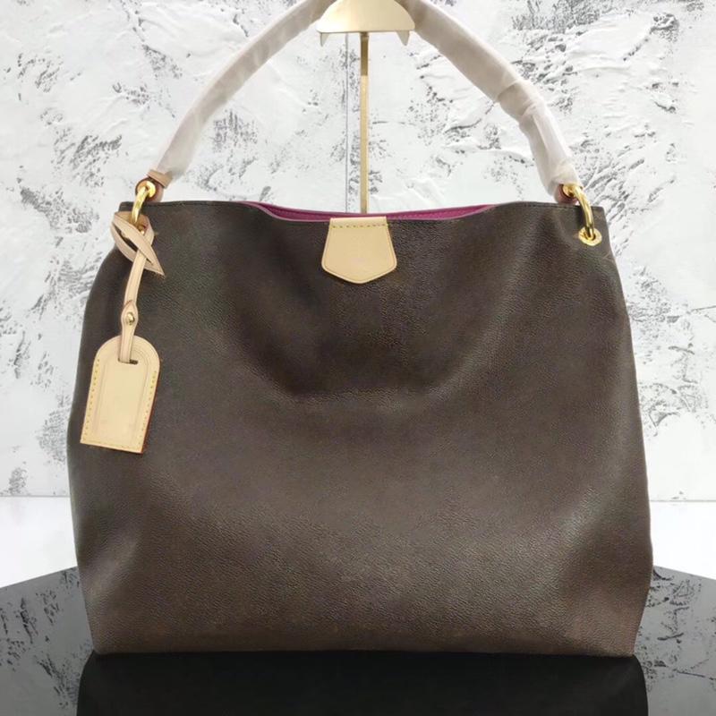 Bester Verkauf hochwertige GRACEFUL Designer Frauen große Einkaufshandtaschen Geldbörsen Kreuzschulterdamehandtasche Kanal tote Hobo Art und Weise