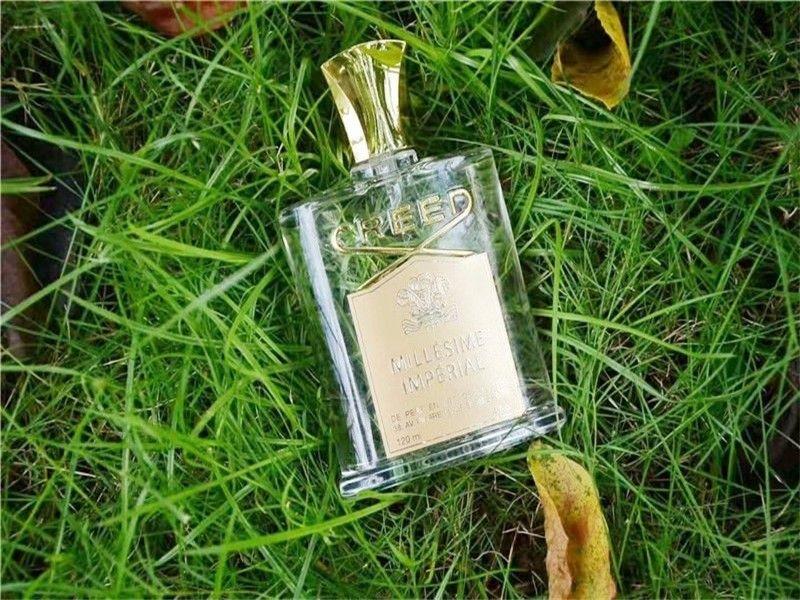 Недавно выпустила 120 мл Крид Men Fragrance Millesime Imperial Саудовская Аравия принц Мужчины Природные Духи-спрей Бесплатная доставка