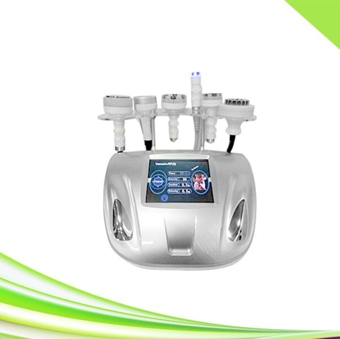 6 1 spa 80k ultrasonik kavitasyon zayıflama lazer lipo kavitasyon rf yüz germe makinesi