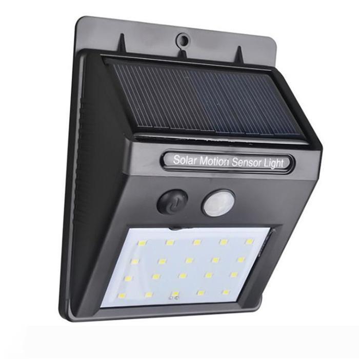 Водонепроницаемый IP65 30LEDs Солнечный свет Панели солнечных батарей питания датчика движения PIR LED свет сада Открытый Тропинка Sense солнечный светильник Настенный светильник