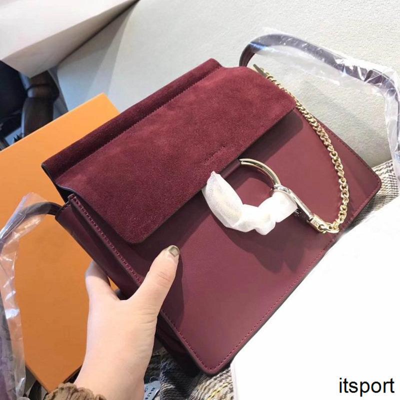 çanta alışveriş Yüksek Kaliteli Kadınlar omuz çantaları hakiki deri lüks daire kadınlar ünlü çanta omuz Messenger çanta ücretsiz gönderim