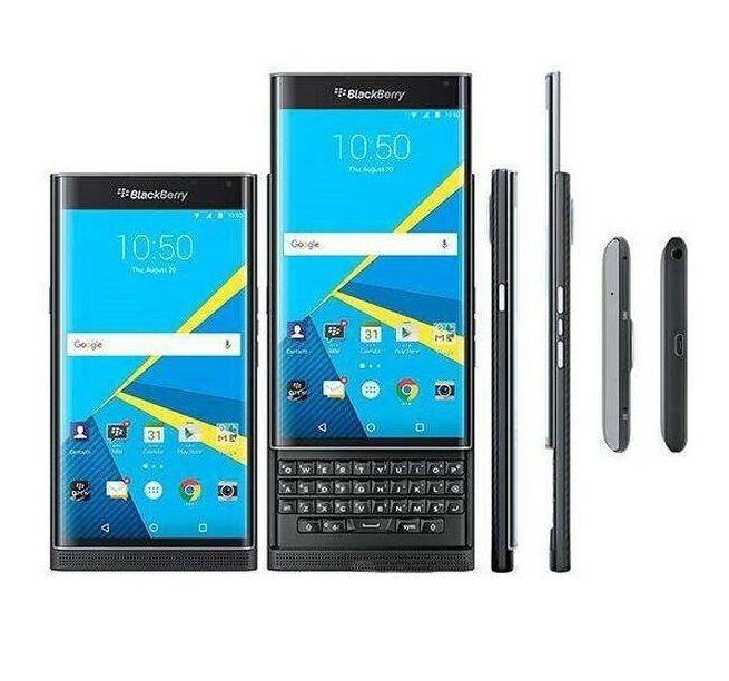 تم تجديده الأصلي BlackBerry Prim الهاتف الخليوي غير مقفلة RAM 3GB ROM 32GB 5.4 بوصة 18MP 4G LTE