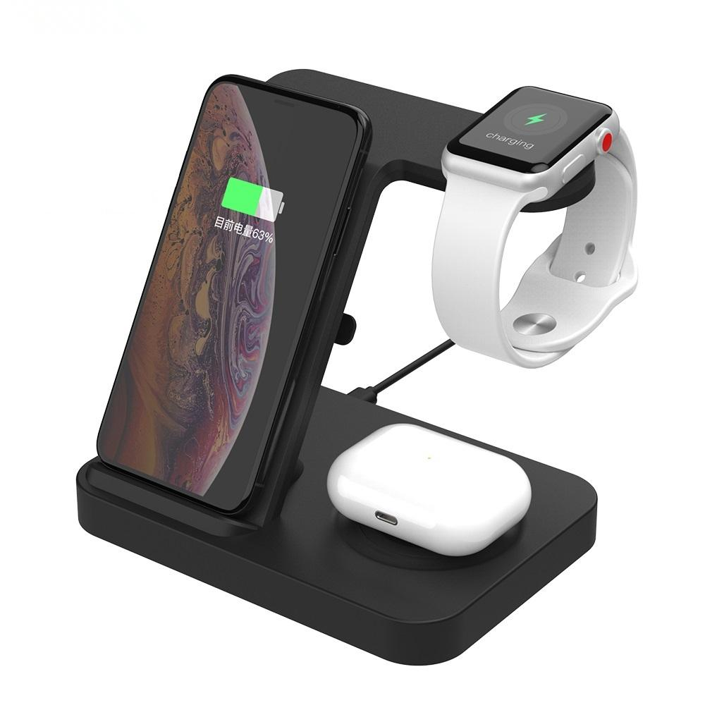 2020 15w Fast Qi Wireless Charger For Apple Watch 5 4 3 2 Airpods