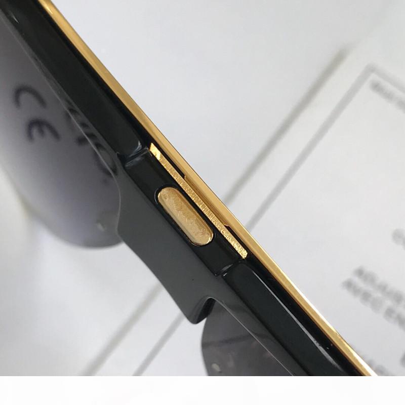 A Luxury 0724 Lunettes de soleil pour hommes Fashion Designer Half Cadre Uv Protection de la lentille populaire d'été de style lunettes de soleil de qualité supérieure Venez avec C
