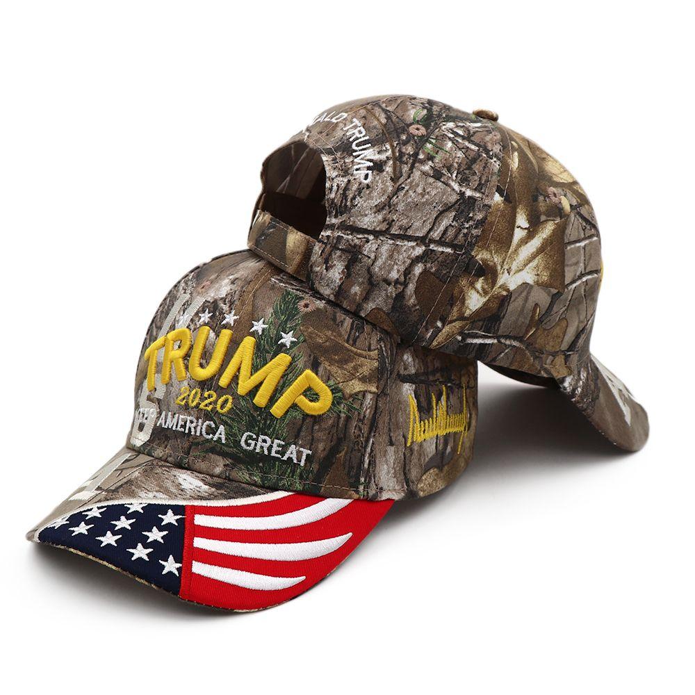 دونالد ترامب 2020 كاب الولايات المتحدة الأمريكية قبعات البيسبول تبقي أمريكا great snapback الرئيس قبعة 3D التطريز الكرة قبعات للجنسين ترامب حزب القبعات CCA12388