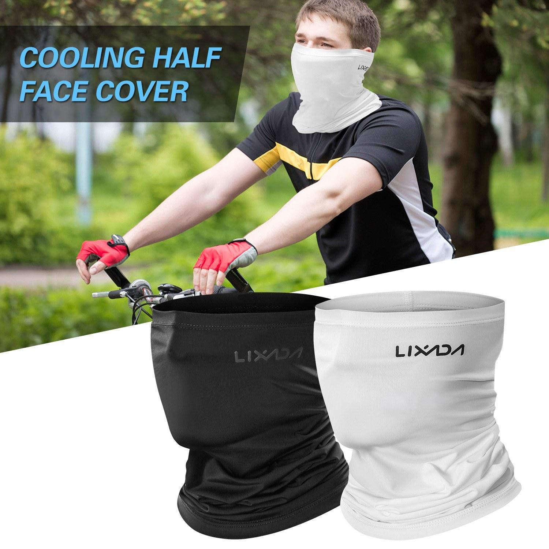 먼지 여름 자외선 차단 자전거 헤드 기어 목도리를 실행 할로윈 하프 페이스 마스크 오토바이 목에 스카프를 타고 머리띠 발라 클라 바 모자