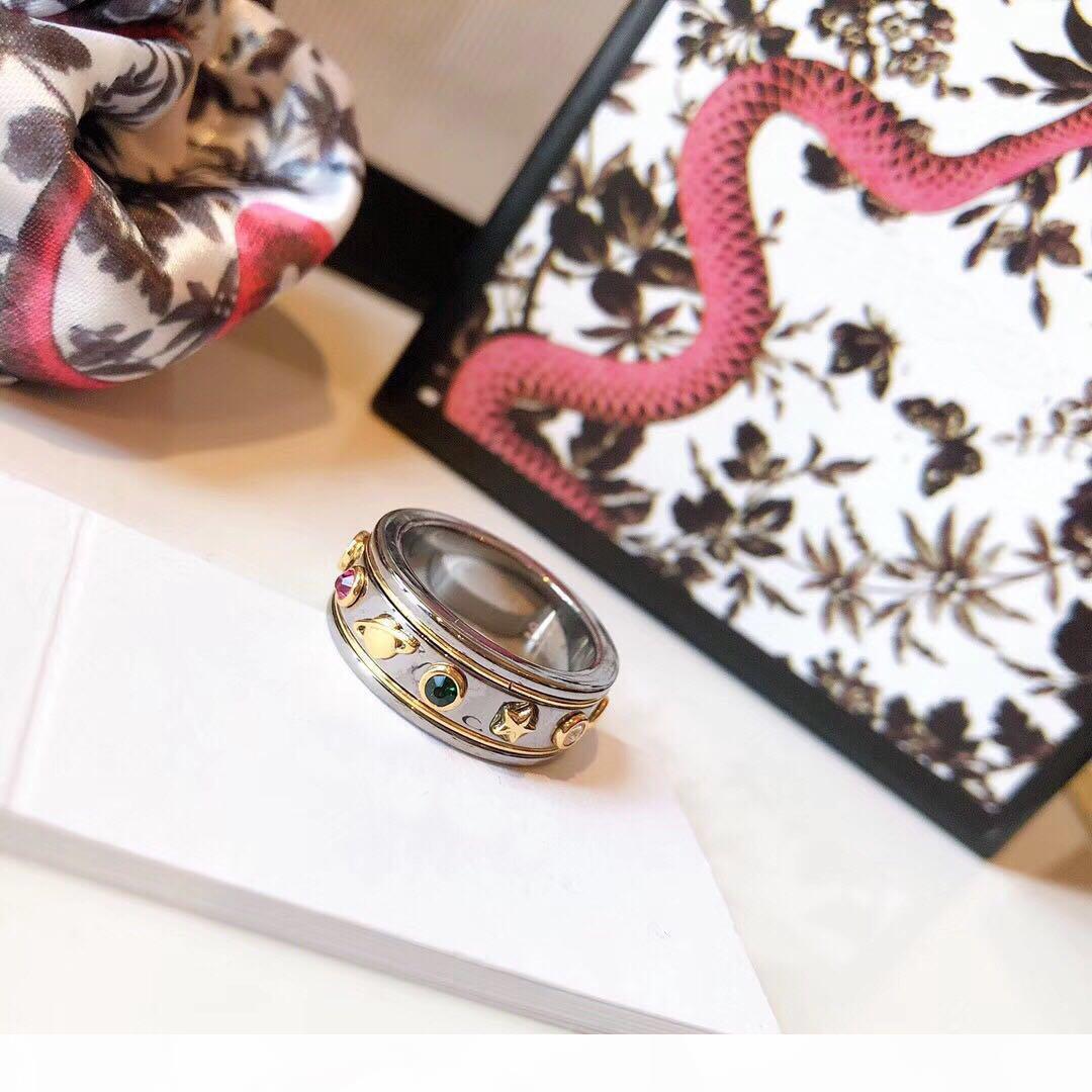 A chaud Marque Bee Anneaux Designer pour dame design des hommes et des femmes du Parti Lovers mariage de fiançailles cadeau Bijoux de luxe mariée avec