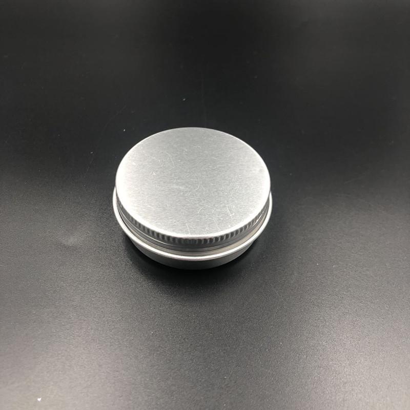 500 adet 30g Alüminyum Kavanoz, 30 Gram Metal Krem Kavanoz, 1 OZ Gümüş Alüminyum Kalay, 30 G Metal Kozmetik Konteyner
