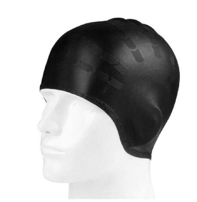 Adultes Natation Caps Hommes Femmes Long cheveux Piscine imperméable Bonnet de bain Oreille Grand Natacion Protect Badmuts Chapeau de plongée en silicone