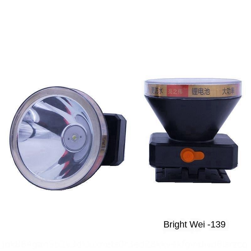 G0rBU Außenlangstrecken-Lithium-Batterie-wasserdichte Scheinwerfer Scheinwerfer Scheinwerfer Batterie Scheinwerfer LED High-Power 80W-Fischerei Lampe campin
