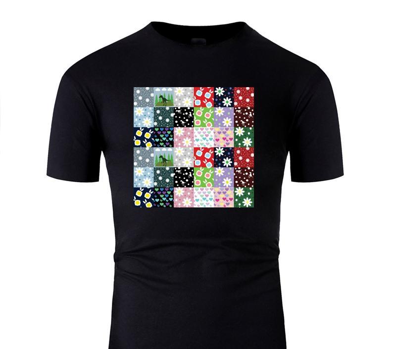 Özel Tasarımlar Dino Yorgan Tişört Erkek Komik Boş Yetişkin Tshirts Yuvarlak Yaka 2020 Kısa Kollu Tee Top İçin