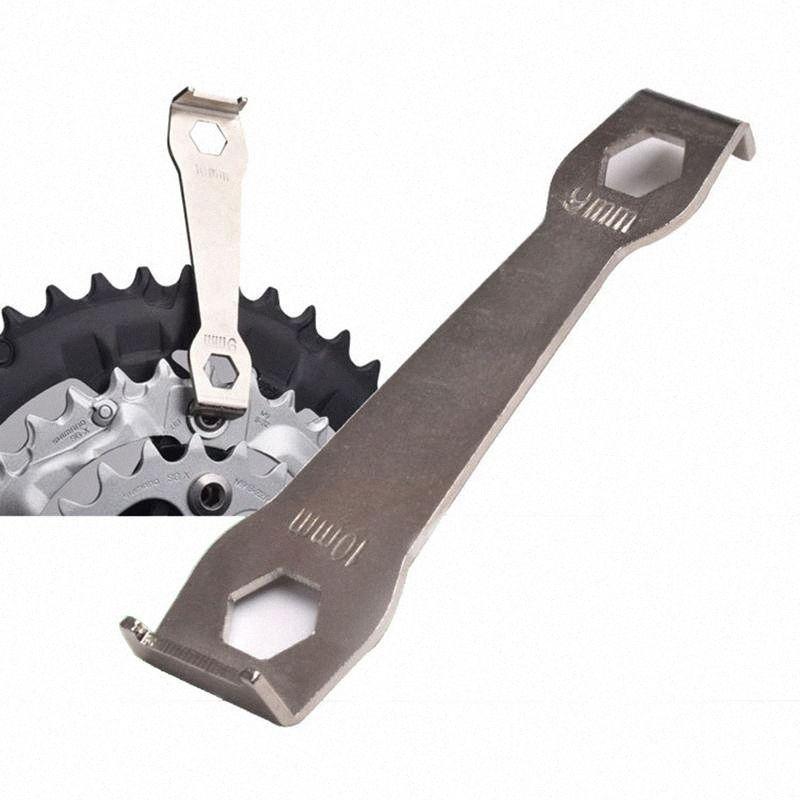 Vélo Pédalier Clé Boulon fixe réparation vélo outil VTT chaîne Roue désassemblage Spanner manivelle Bras Boulon c1P5 #