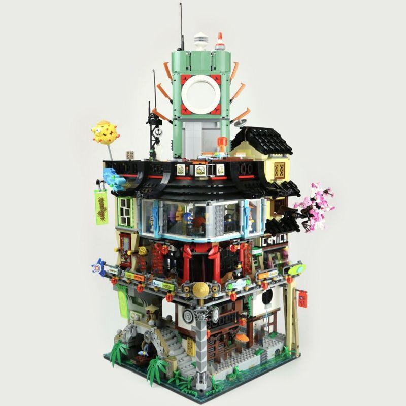 في المخزون 06066 4953pcs النينجا مدينة النينجا الفيلم الماجستير من Spinjitzu نموذج بناء كتلة الطوب اللعب هدايا متوافقة 70620
