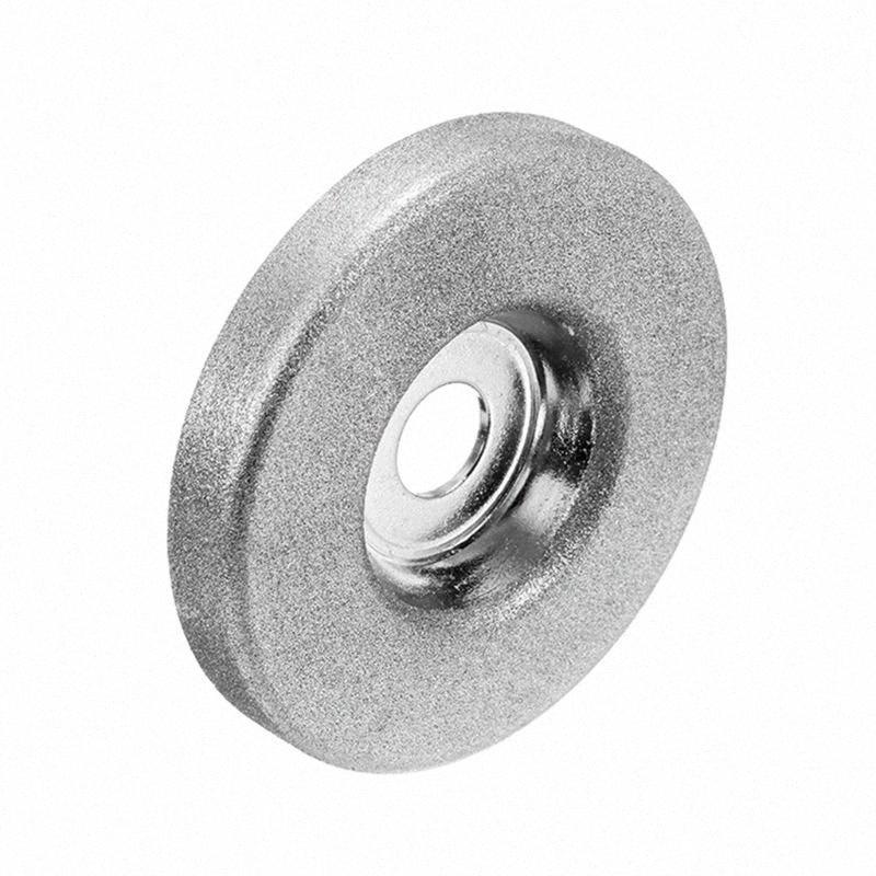 1шт 56мм 180/360 Grit алмазный шлифовальный круг Grinder камень точилка Угол резки колеса Роторный инструмент Оптовая tYrC #