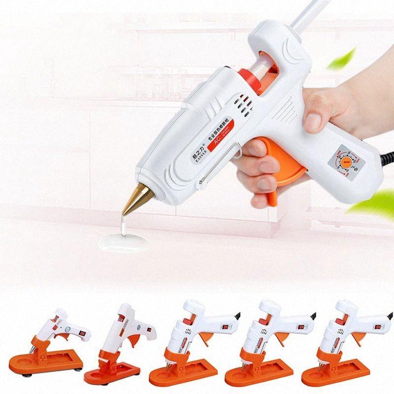 Hot Melt Glue 30W/80W/100W/60-100W Professional High Temperature Hot Melt Glue Gun Repair Tools Gun With Stick qhMT#