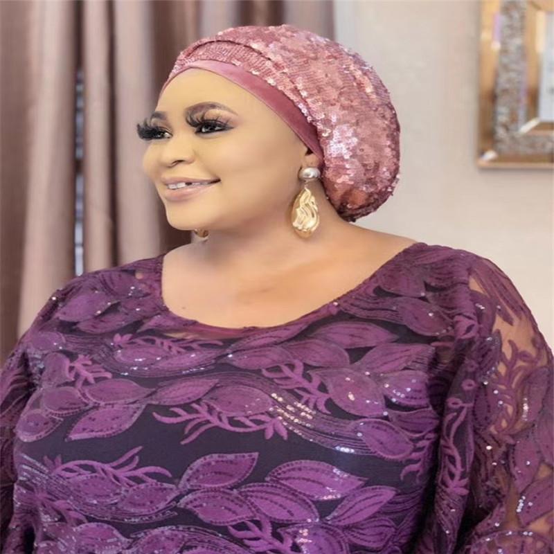 Neueste afrikanische Spitze-Gewebe-2020-Qualitäts-Spitze-Material Französisch Nigerian Spitze-Gewebe mit Pailletten für Partei-Kleid