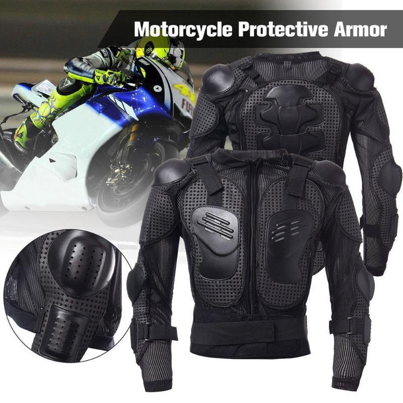 Veste moto Full Body Armure Motorcross Racing Pit Bike poitrine Équipement de protection épaule protection conjointe main-XXXL