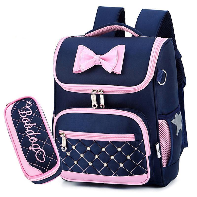 Kids School Bags Children Backpacks for Girls Waterproof Backpack Primary Schoolbag Mochila Bookbag Big and Small Size Mochila