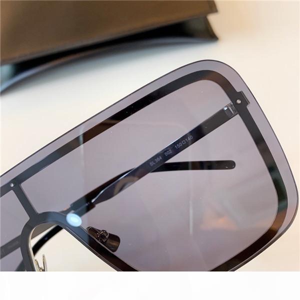 gafas protectoras 364 sin marco cuadrado superior de las gafas de lentes conexión de calidad UV400 nuevas mujeres del diseñador de moda al por mayor gafas de sol