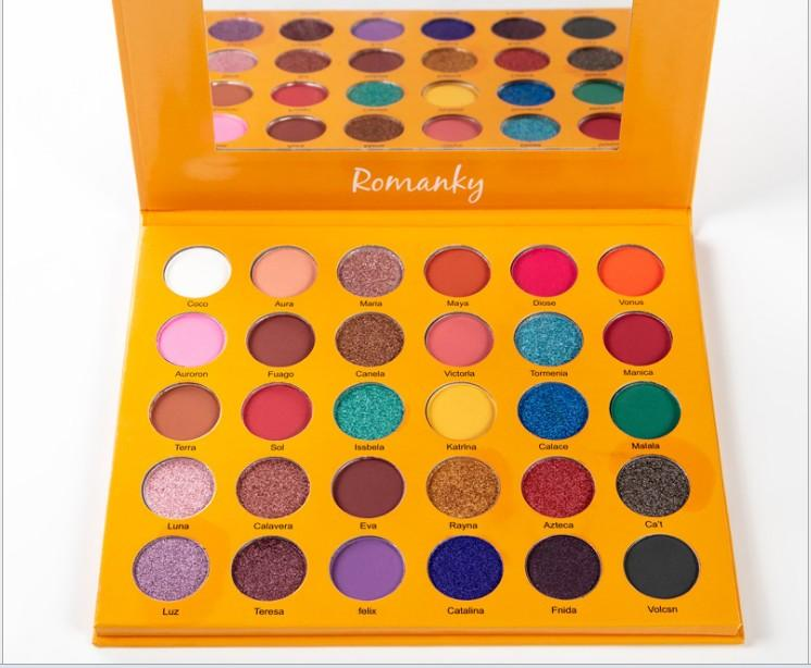 Other Gadgets - POPFEEL 120 Color Mini Eye Shadow Palette