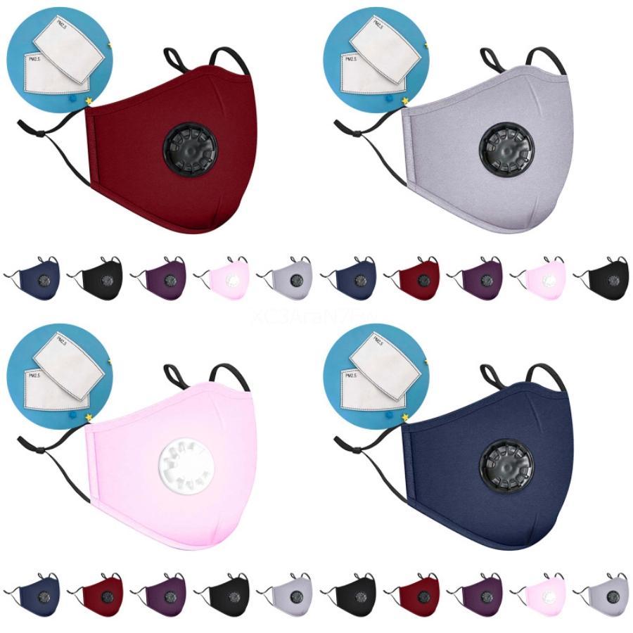 Viso Black Mask Designer Stampato Maschera Maschere Raffreddare adulti ghiaccio seta sottile può essere lavato Sezione Hanging dell'orecchio maschere antipolvere protezione solare # 77 # 579