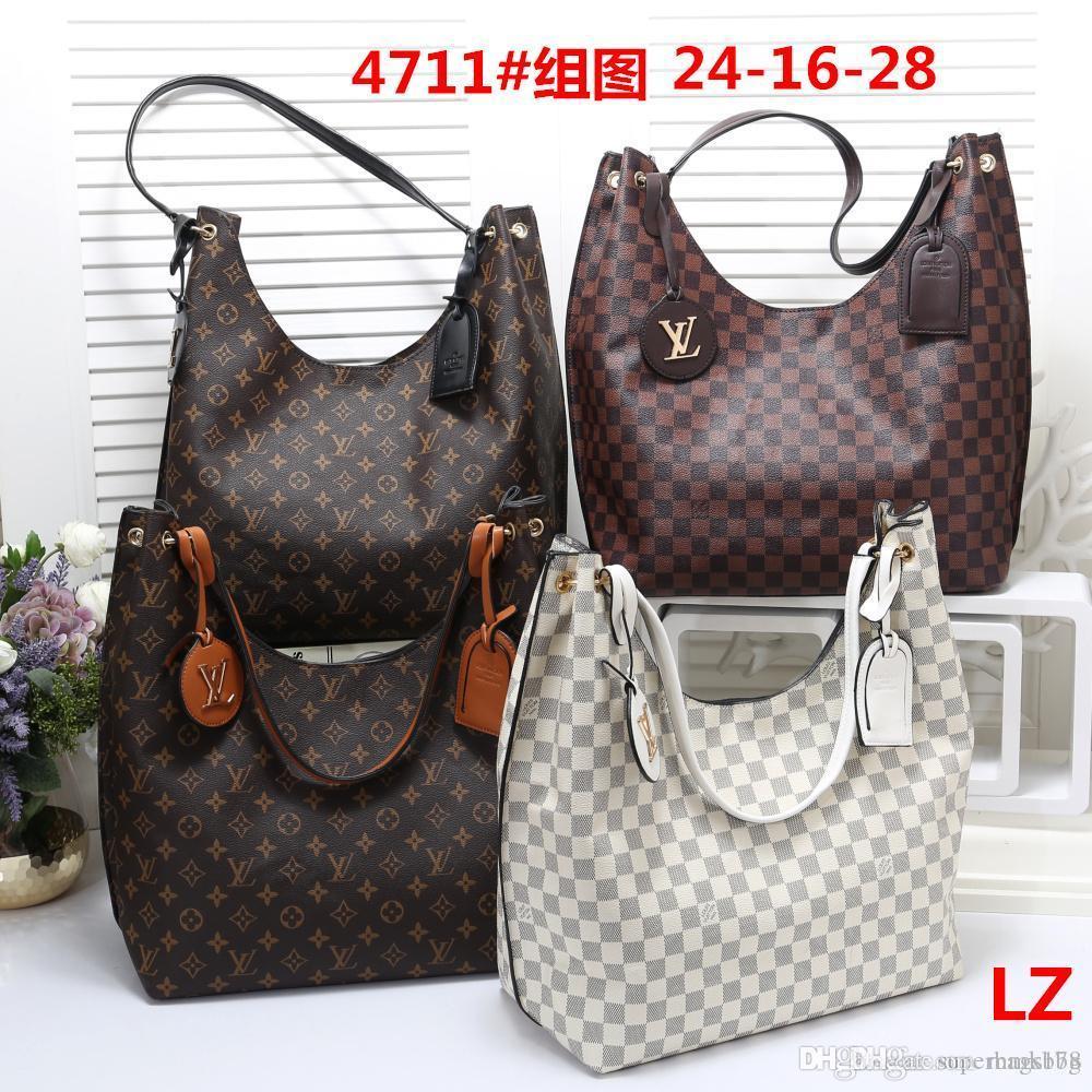 BBB LZ 4711 Miglior prezzo delle signore delle donne di alta qualità singola borsa tote spalla zaino borsa Portafoglio
