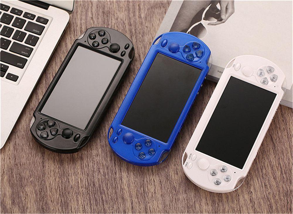 X9 Console de jeux vidéo 5.0 pouces lecteur grand écran portable Game TV Out joindrai MP3 Caméra Vidéo Multimédia Console de jeux