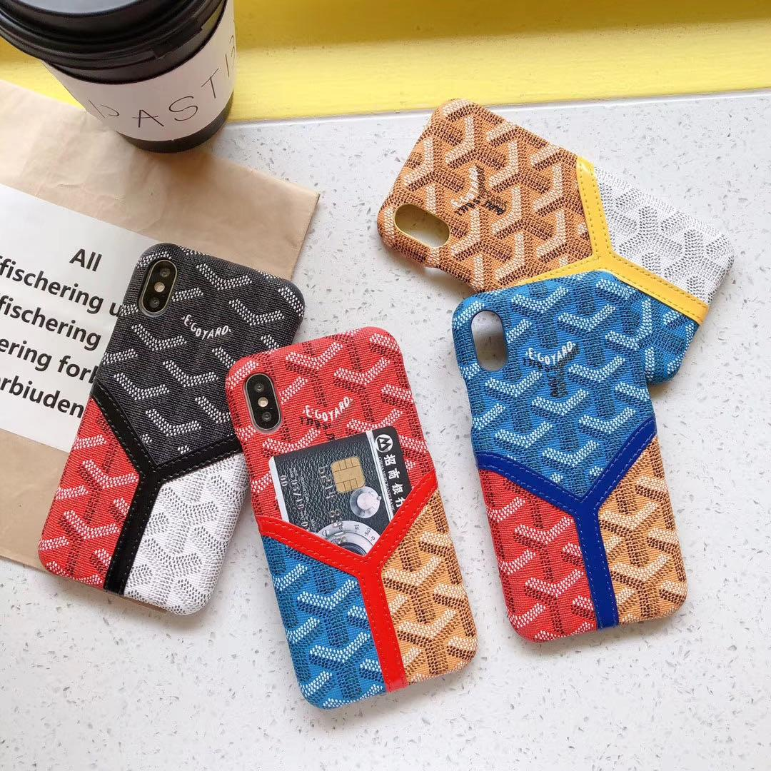 wholesale fashion phone cases for iphone 11 Pro Max XR XS max 7 8 plus PU leather Phone fashion cover cases with card
