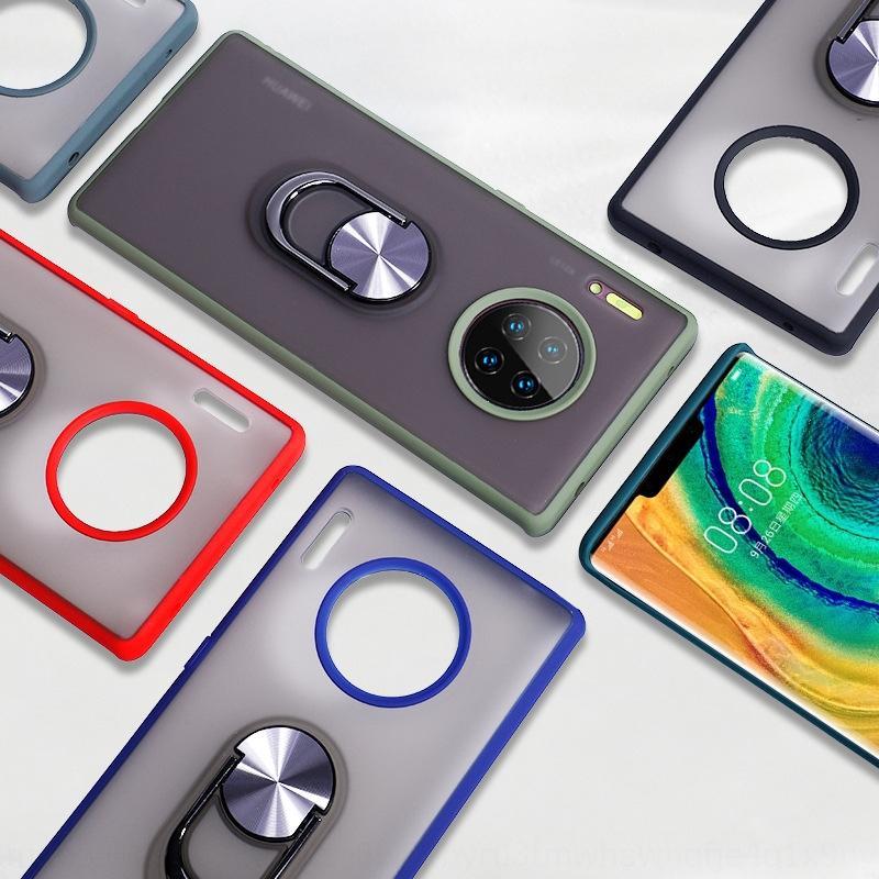 OCPFr Huawei P40Pro téléphone mobile support d'aspiration magnétique peau sensible Mate30pro Mate20 givré anti-chute cas Bouclier cas téléphone mobile P3