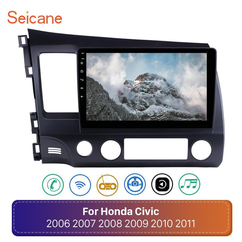 "Seicane Android 8.1 10.1"" 2Din Autoradio für 2006 2007 2008 2009-2011 Honda Civic Head Unit WiFi Stereo GPS Multimedia Player"