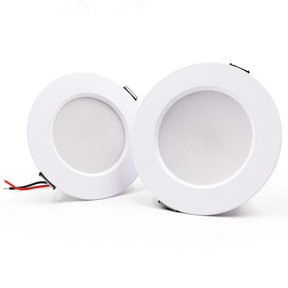 LED Downlight 5W 7W 9W 12W 15W AC220-240V 2-4 inch Spotlight Embedded Recessed Mounting Aluminum home & commercial Drop Shipping
