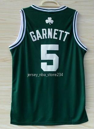 2020 Mens Basketball-Trikots Jahrgang Kevin Garnett 5 Larry Bird 33BostonCeltics Paul Pierce 34 Bill Russell 6 Ray Allen 20 Günstige